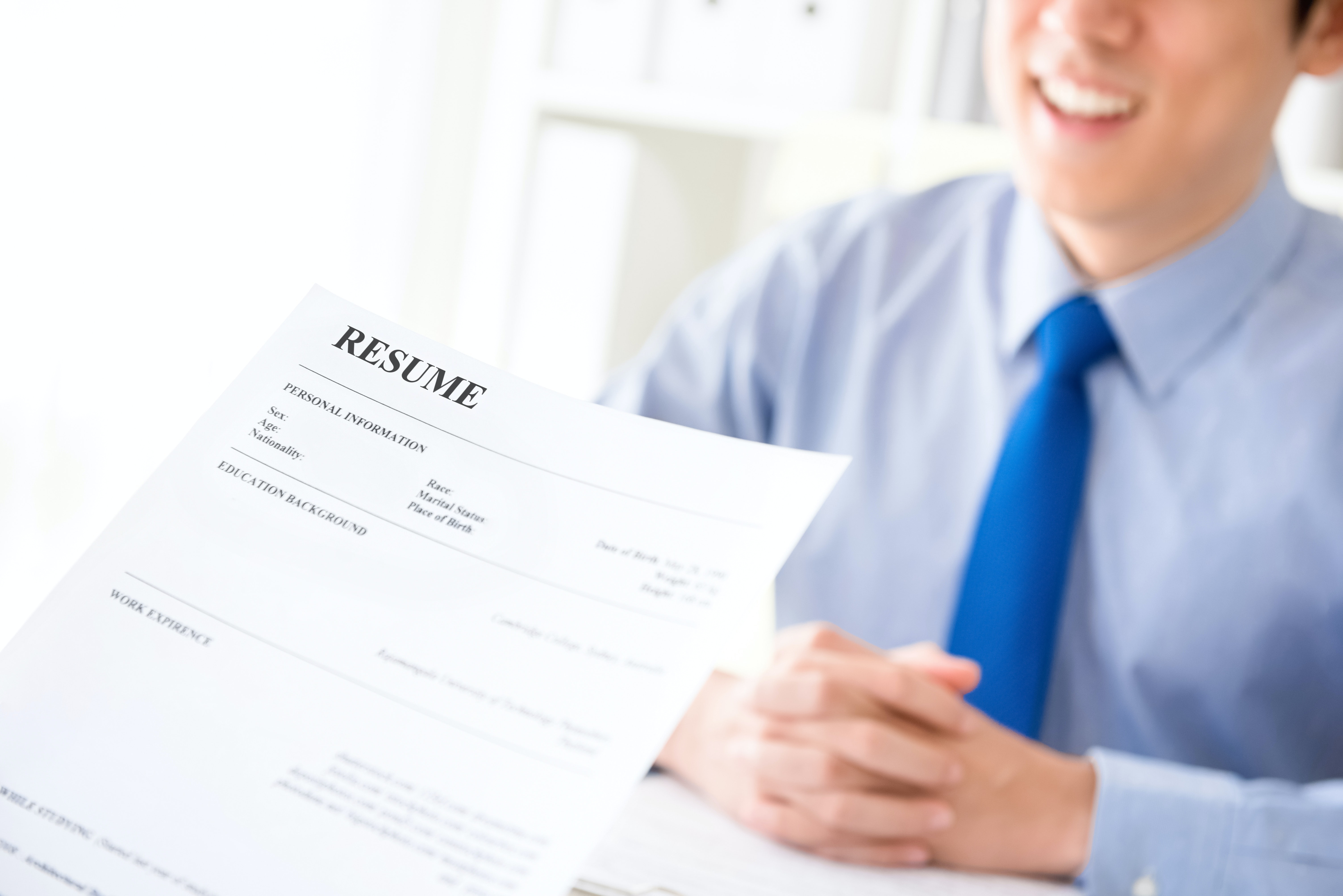 This Sly Resume Trick Will Land You An Interview Even If