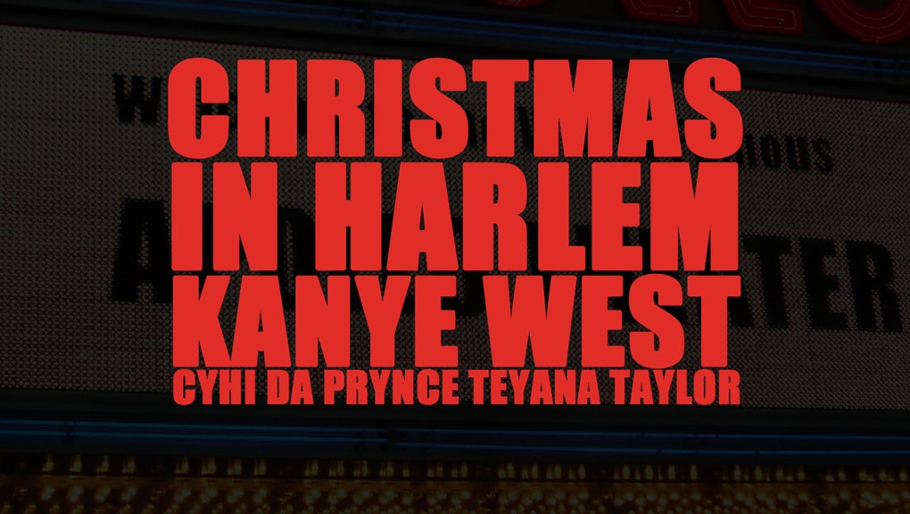 Kanye West Christmas In Harlem.Christmas In Harlem Should Be On Everyone S Holiday Playlist