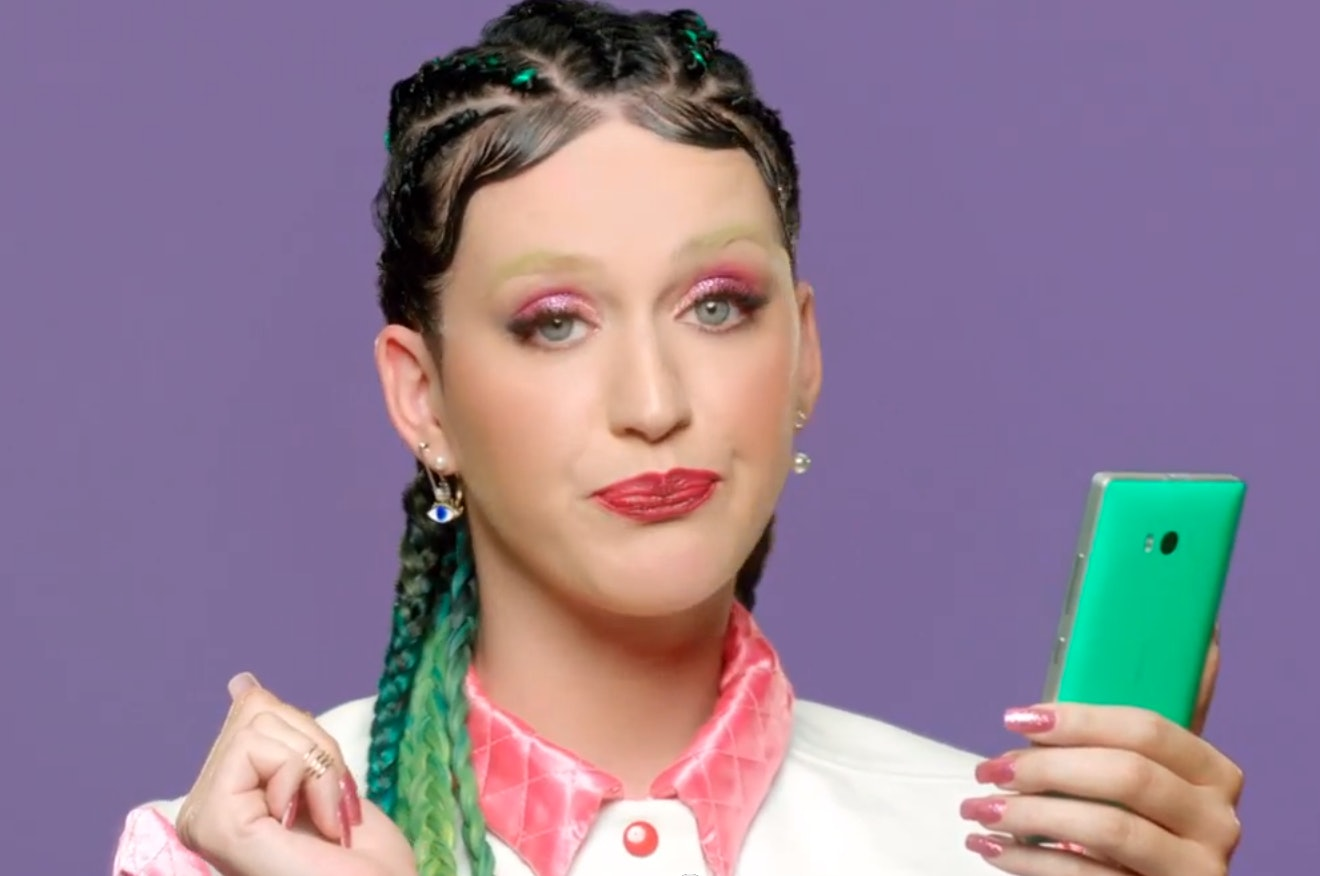 Image result for Katy Perry with baby hair