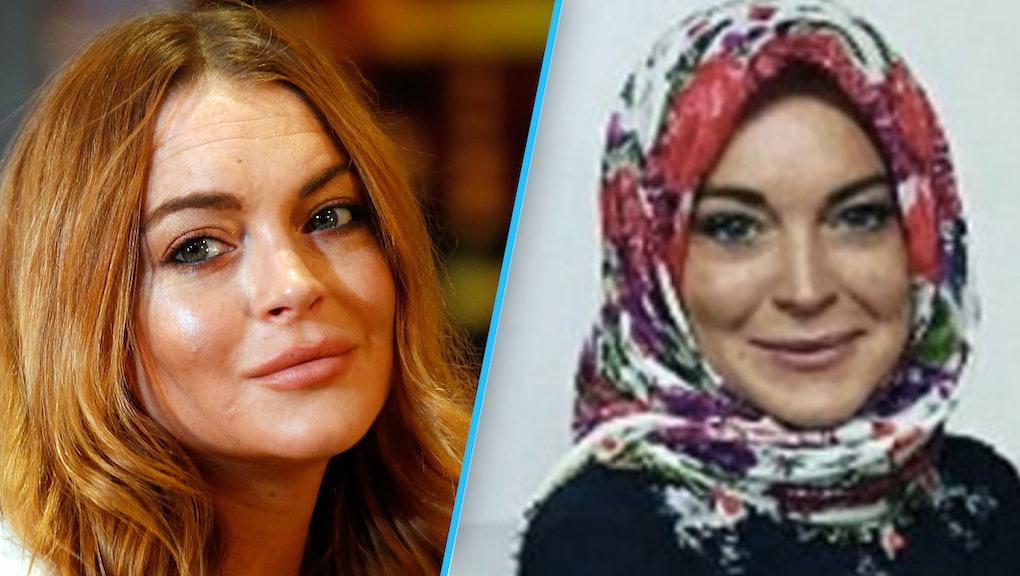 Lindsay Lohan S Instagram Bio Says Alaikum Salam And Muslims Are