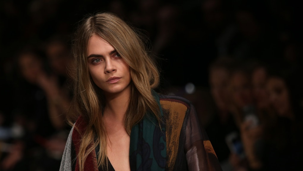 b0bafd1c0f0 9 Reasons Cara Delevingne Is the Most Fascinating Model in Fashion