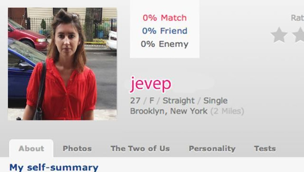 OkCupid Dating Persona liste