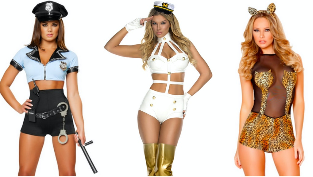 Hot girls in skanky out fits Ever Wonder Why There Are So Many Sexy Halloween Costumes Here S Why