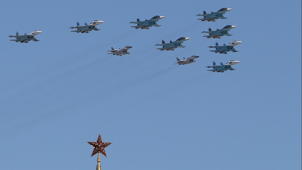 Russian Jets Intercepted Near U S  and Canadian Airspace