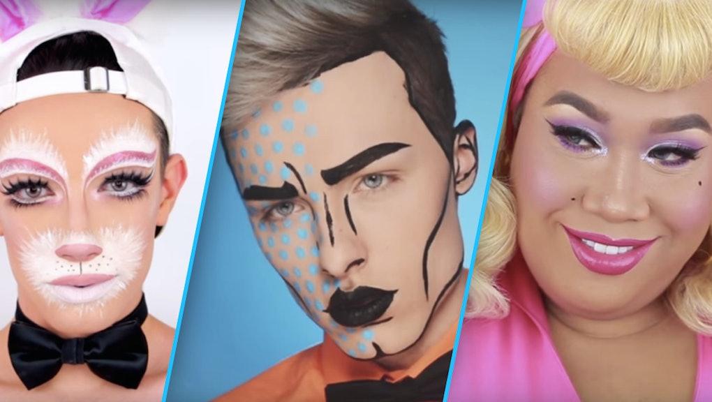 Halloween Make Up Men.10 Halloween Makeup Ideas For Men