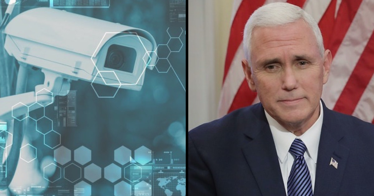 Mike Pence is suddenly worried about that expansive surveillance state he helped create