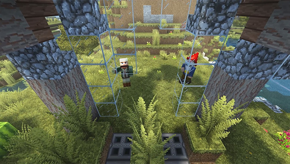 Minecraft: Switch Edition': Super Duper Graphics Pack will