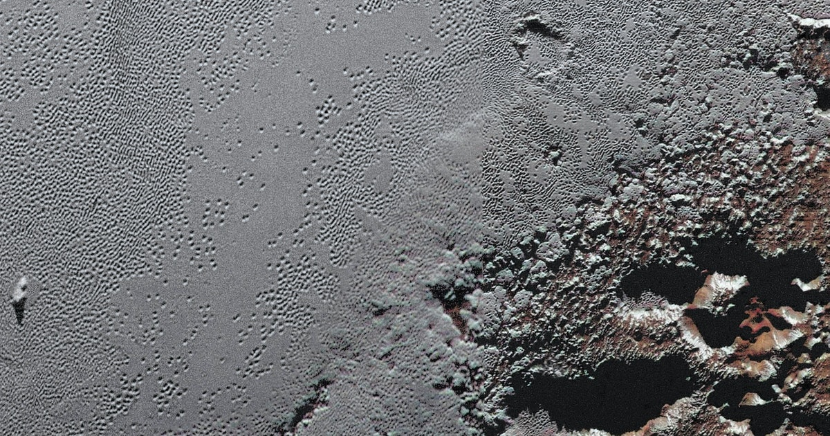 NASA Just Released One of the Sharpest Images of Pluto Ever