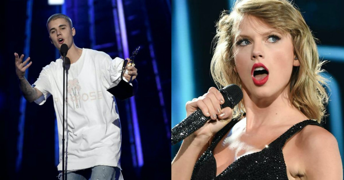 The Justin Bieber-Taylor Swift Feud Seemingly Ended in the Most Millennial Way Possible