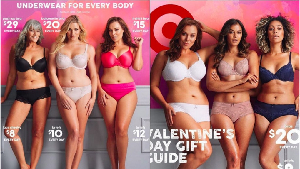 d52f03086847f Target Australia Just Demonstrated How to Show Off Valentine's Day Lingerie