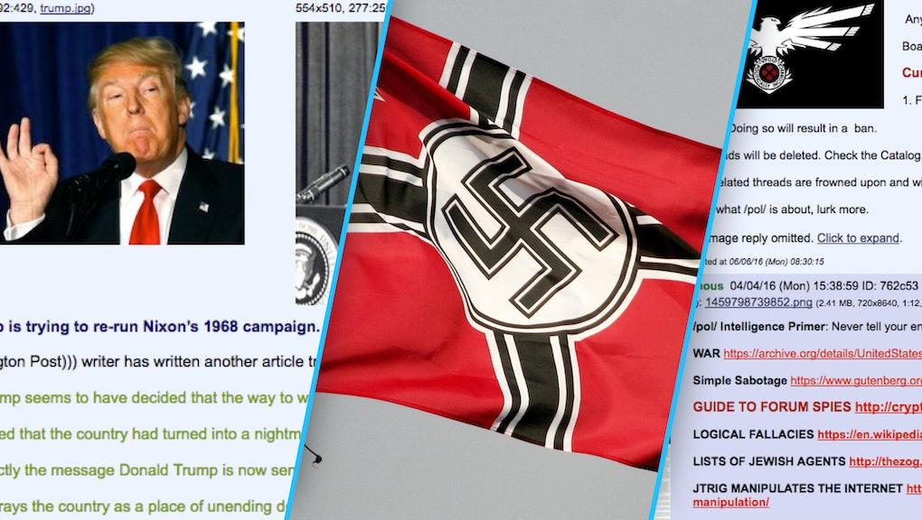 Inside 8chan's /pol/, the Far-Right Forum Where Trump's Star