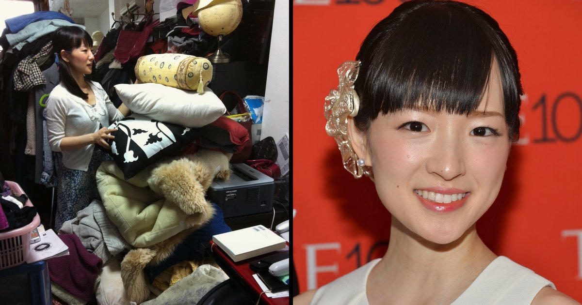 Marie Kondo: Why a tidier life is a richer — and happier — one