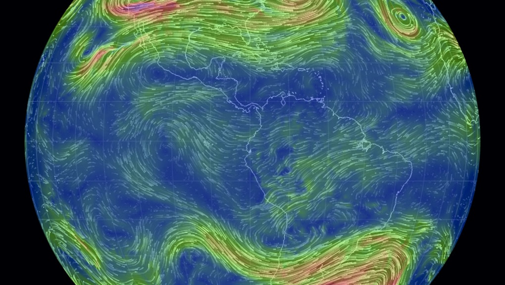 This Interactive Map of Earth's Weather Is the Most Stunning Thing