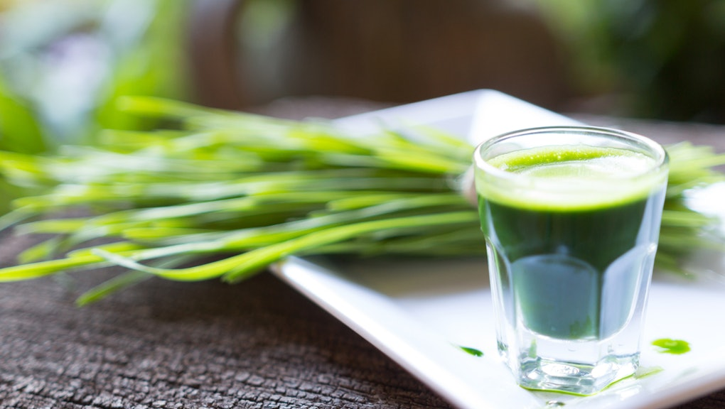The health benefits of wheatgrass, ginger, turmeric and