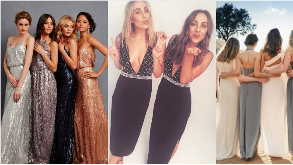 d4d1dc2844 Turns Out Bridesmaids Dresses Don t All Suck Anymore — If You Know Where to  Go