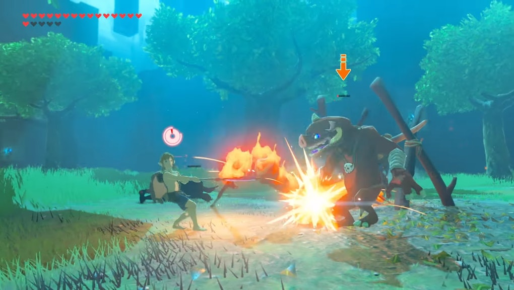 Zelda: Breath of the Wild' Trial of the Sword Master Mode