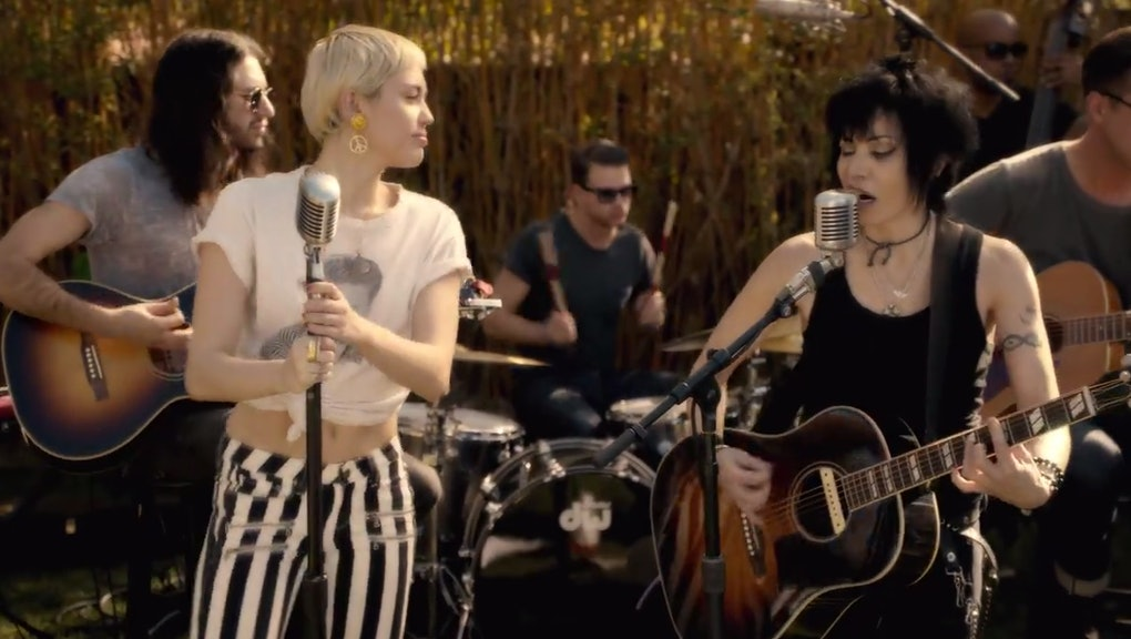 Miley Cyrus And Joan Jett Just Released A Badass Cover Of Different For The Best Reason