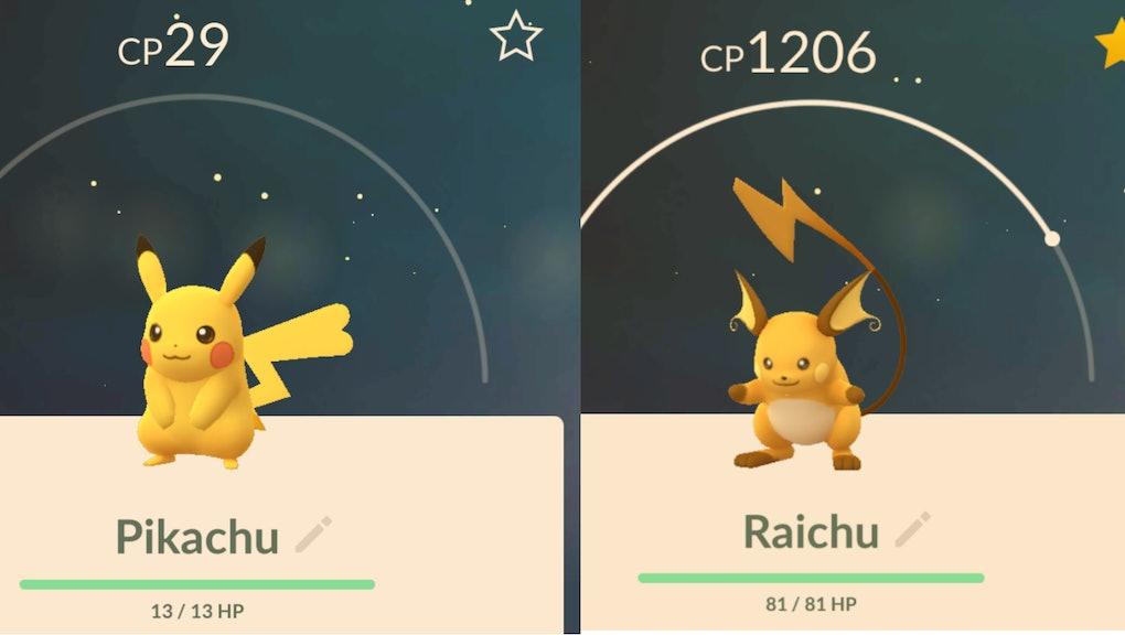 Pokémon Go' Genders: Female Raichu and female Pikachu appear after