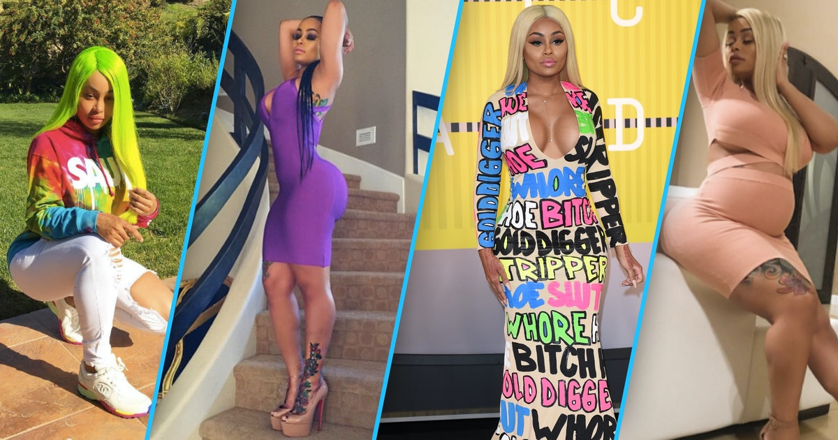 Unsung style icon: Blac Chyna, pioneer of bodycon dresses, sweatpants and colorful wigs