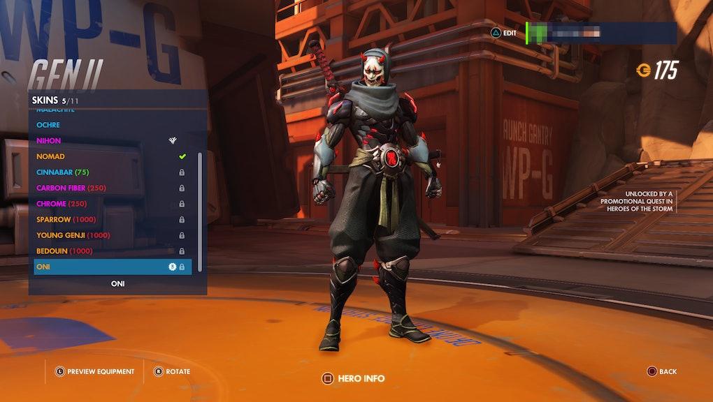 Overwatch' Genji Oni skin: The quickest method to get it