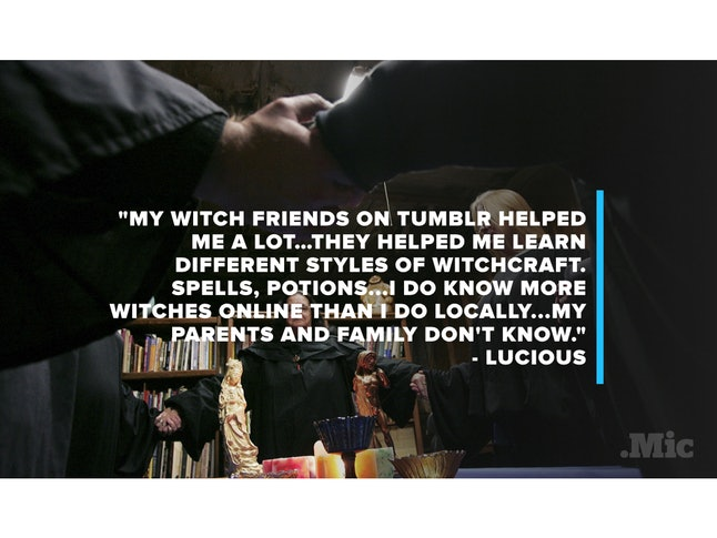 The Secret Lives Of Teen Witches On Tumblr