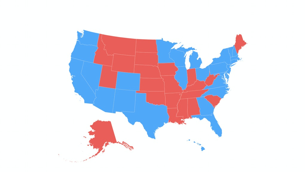 If only people under 40 had voted, here\'s how the Electoral ...
