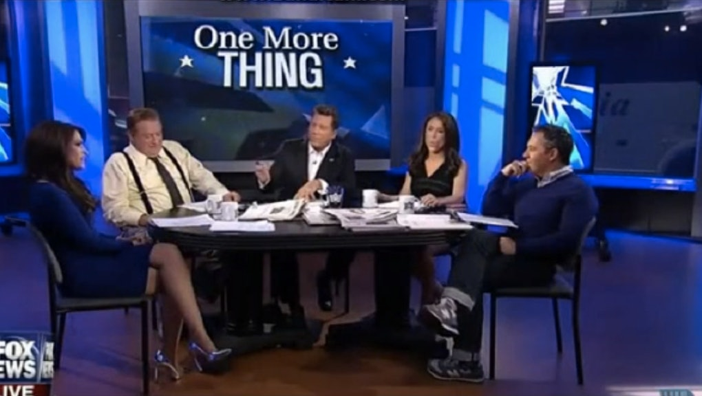 Does Fox News Have Any Male Anchors Who Aren't Chauvinist Pigs?
