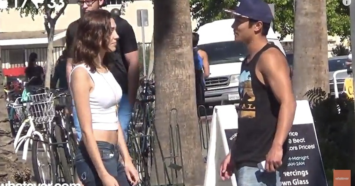 This Viral Video of a Woman Asking 100 Men for Sex Proves