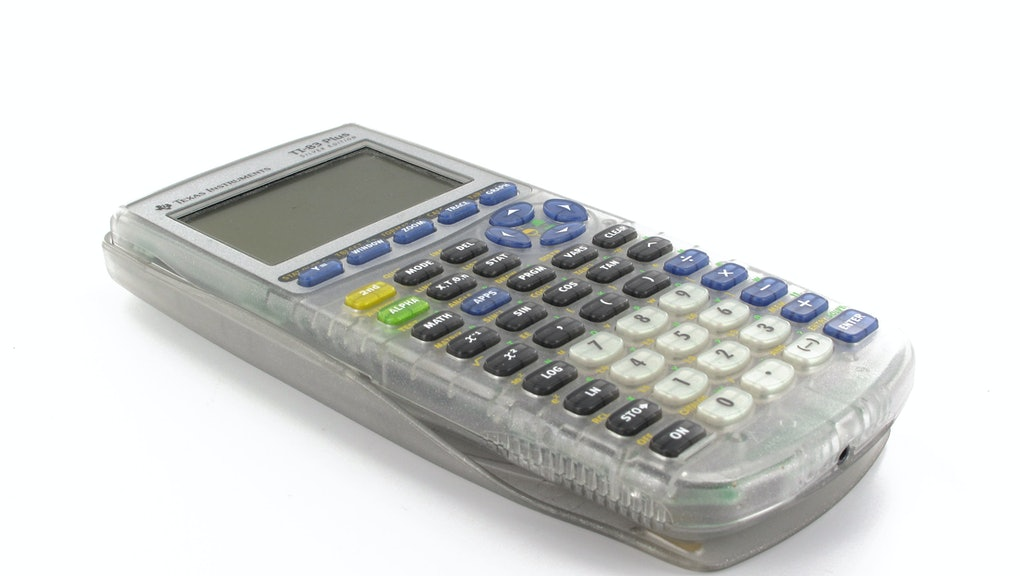 Remember Your Old Graphing Calculator? It Still Costs a