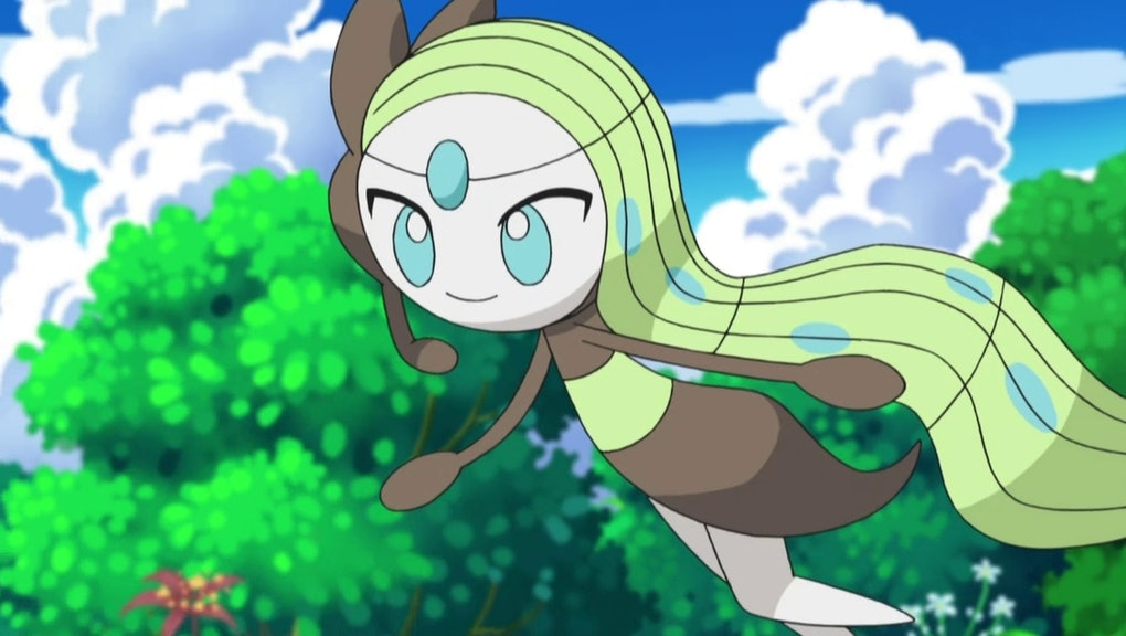 Meloetta 'Pokémon ORAS/XY' Event: Get the legendary in your