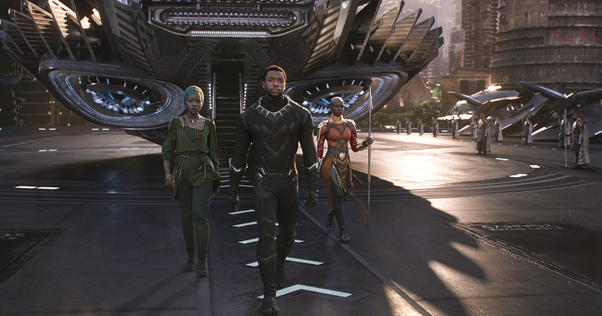 'Black Panther' isn't just another Marvel movie — it's a vision of a future led by blackness