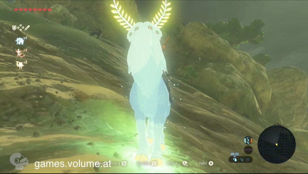 Zelda Breath Of The Wild Lord Of The Mountain Mount How To Get The Game S Secret Horse
