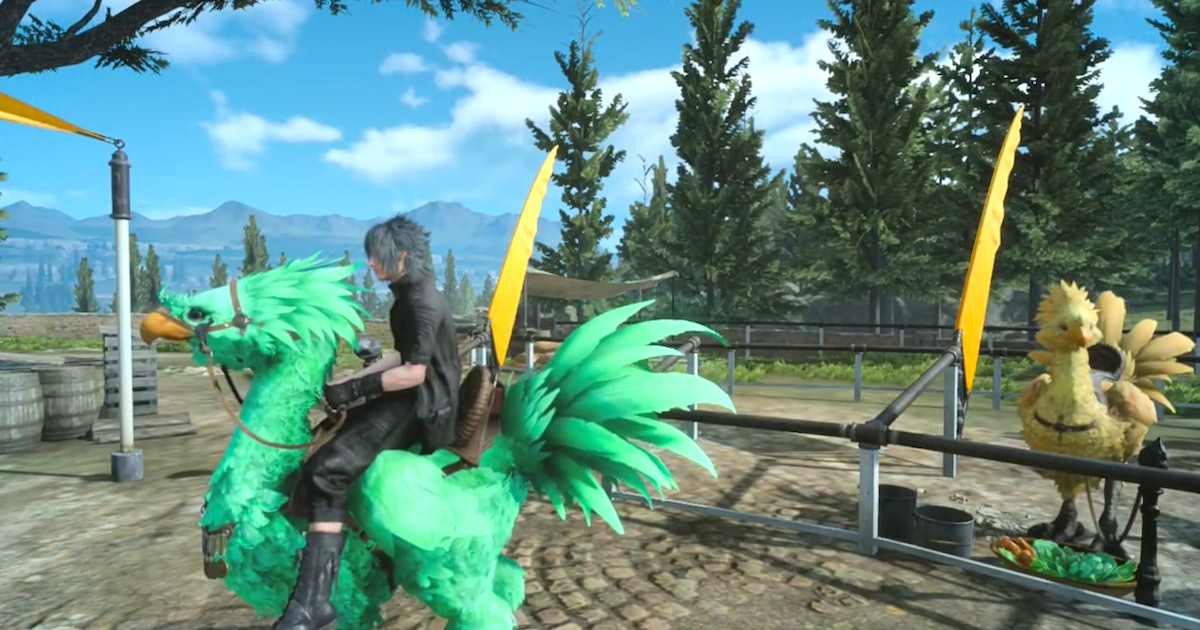 'Final Fantasy 15' Chocobo colors, racing and the quest to unlock them