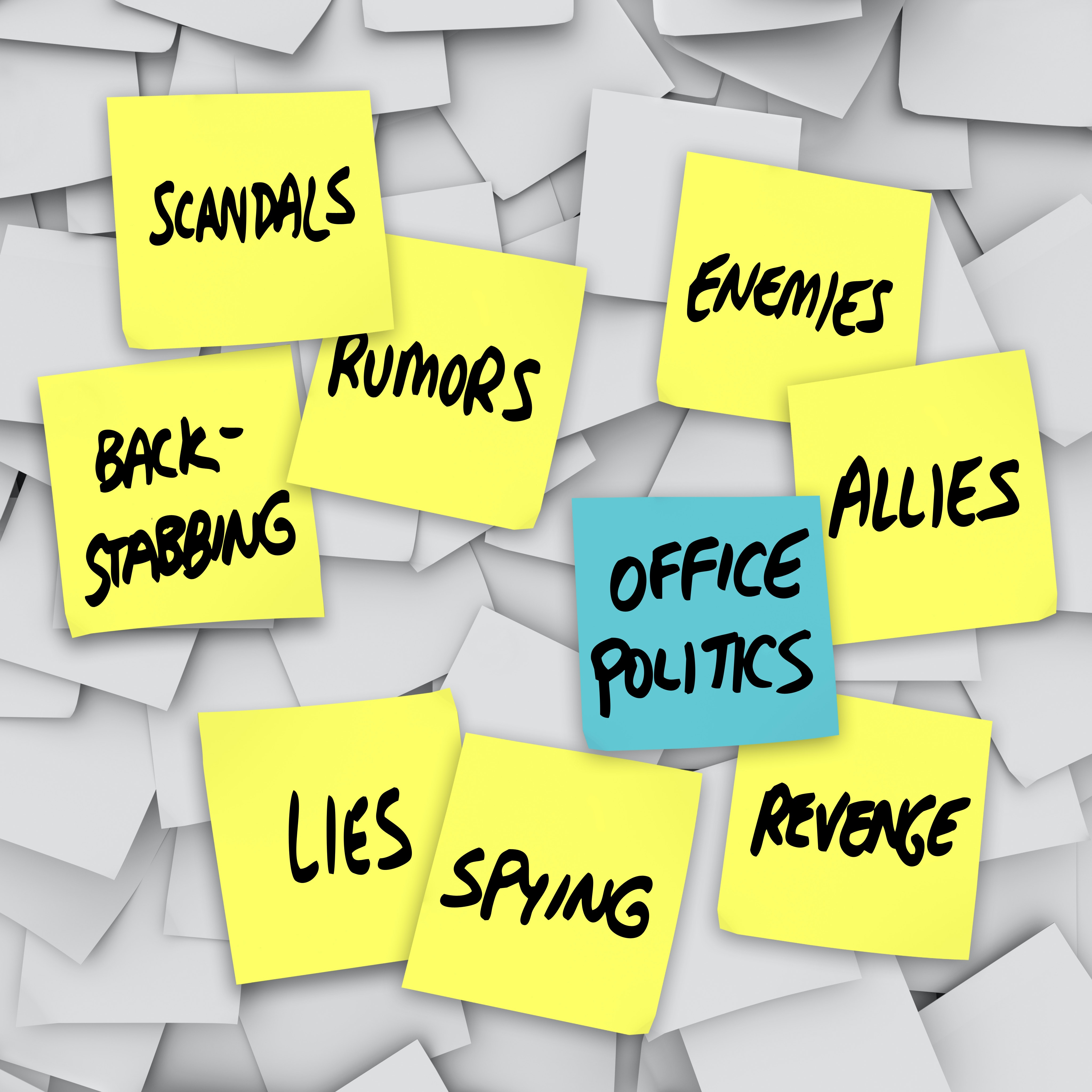 5 ways to stop the office backstabber — without sinking to