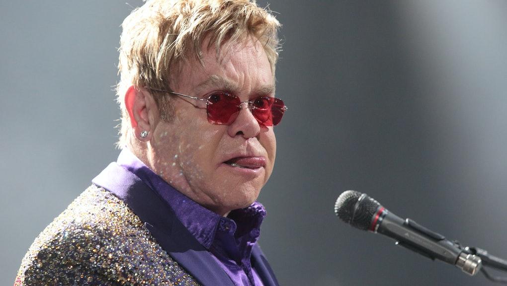 058353423e9f Elton John Had the Perfect Response to Dolce & Gabbana's Anti-Gay Comments
