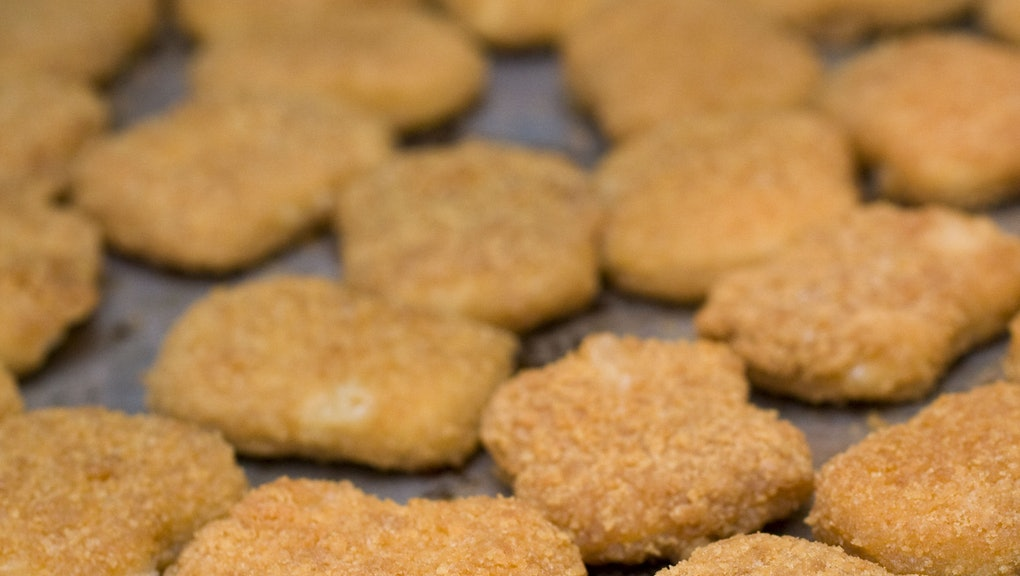How are chicken nuggets made? Not with pink slime, it turns out