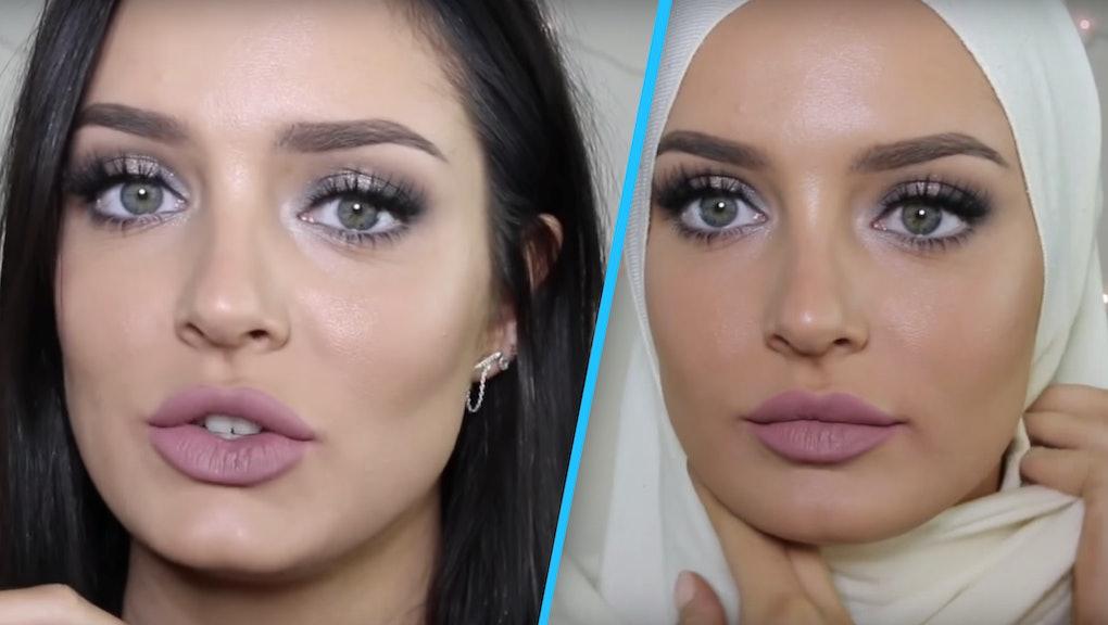 Hijab And Makeup Saubhaya