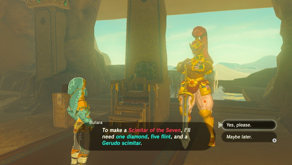 Zelda: Breath of the Wild' Weapon Crafting: How to repair