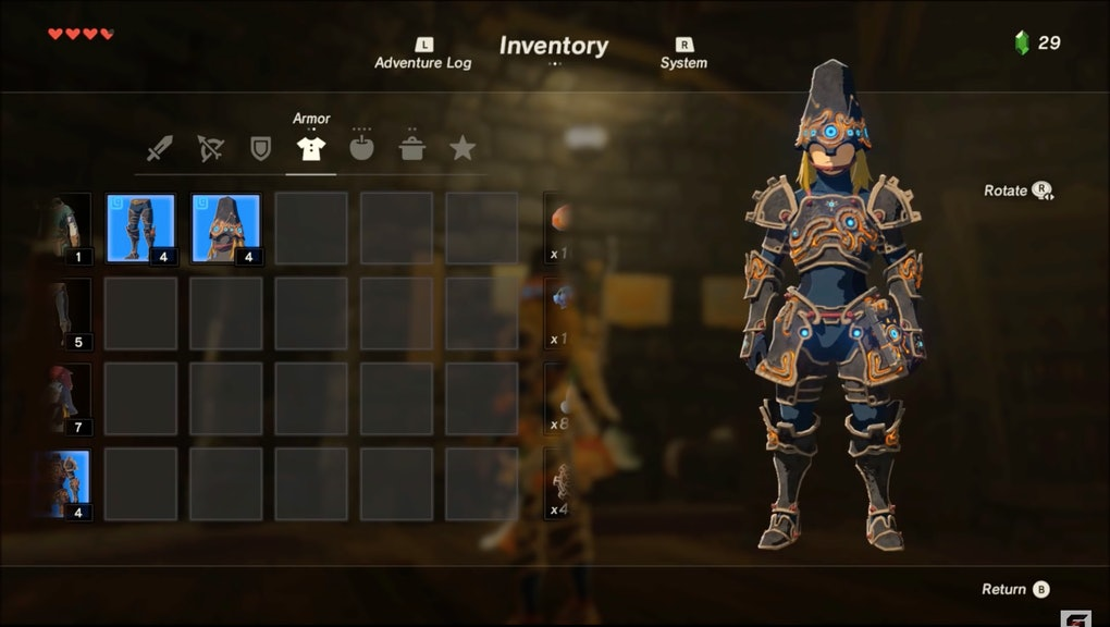 Zelda: Breath of the Wild' Ancient Armor: Location and guide for