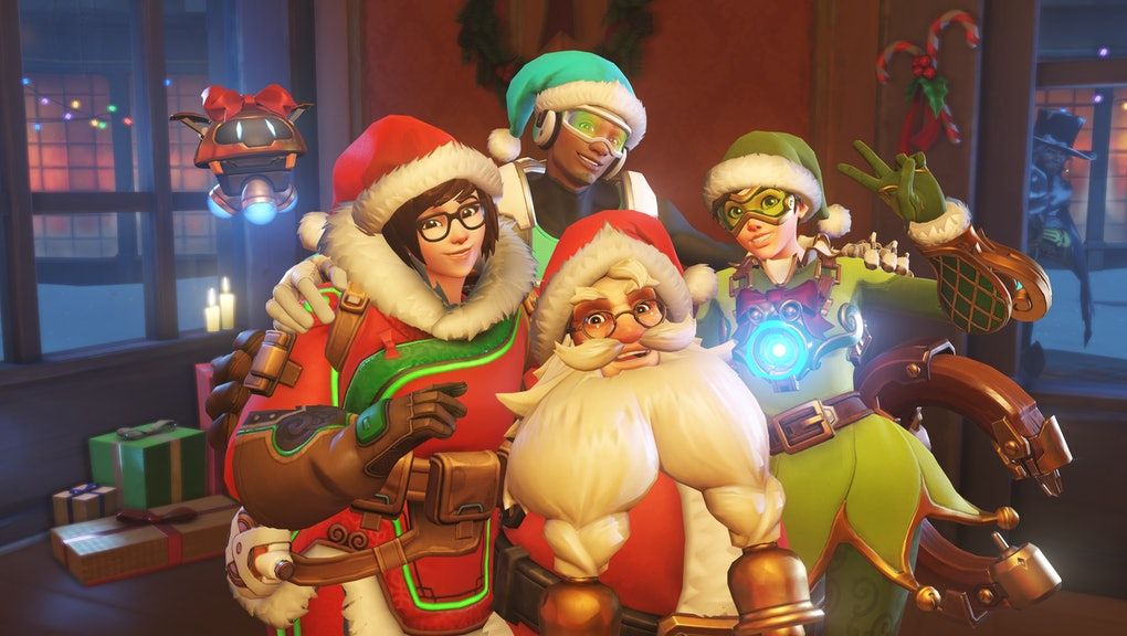 Christmas Skins.All Overwatch Christmas Skins And Other Unlockable Items