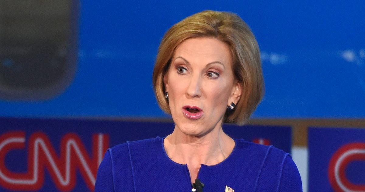 Fiorina Expected to Enter GOP Debate