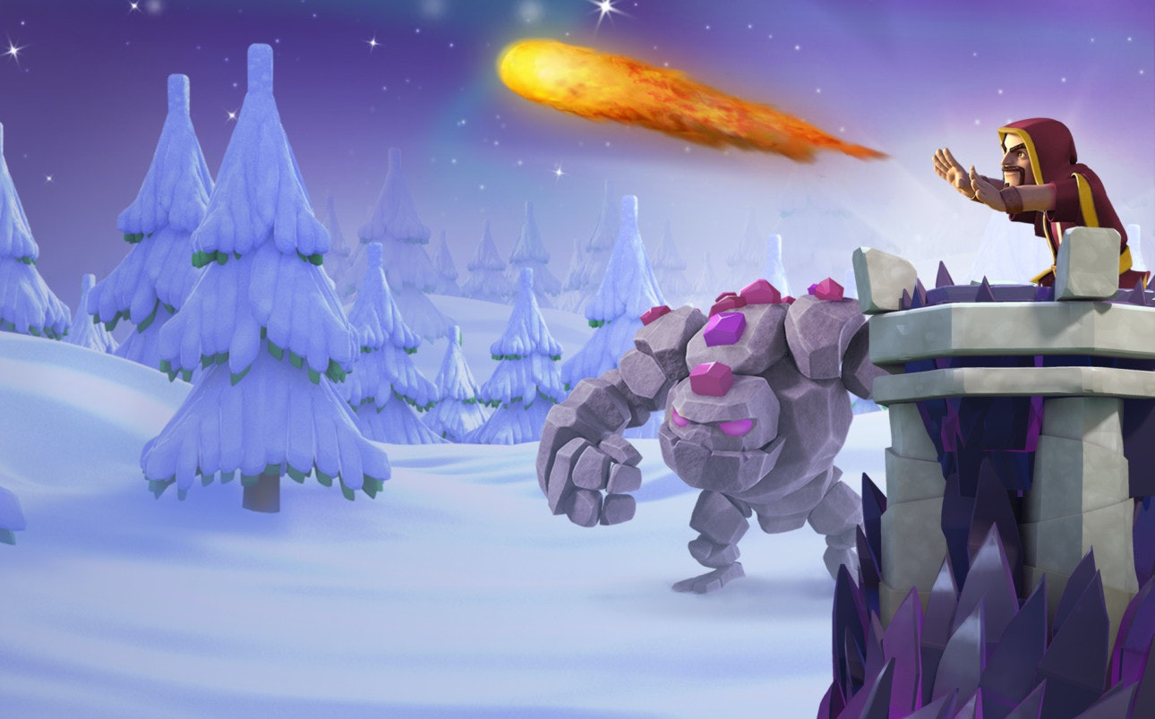 Clash Of Clans Christmas Trees In Order.Clash Of Clans Santa S Surprise Holiday Update Brings New