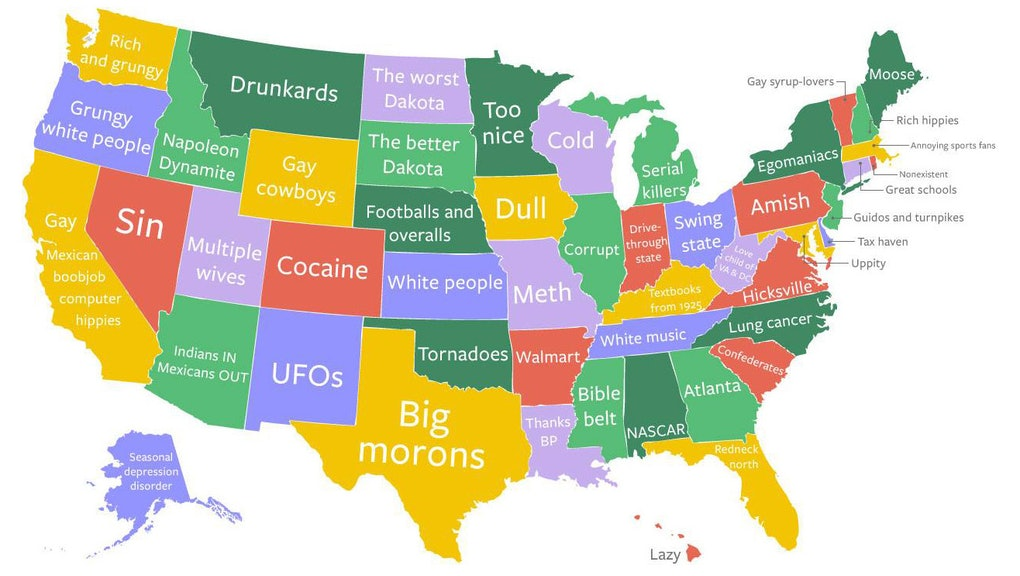 What's the Worst Stereotype About Every State, in 50 GIFs on montana culture, montana symbols, montana people, montana art, montana architecture, montana school, montana nature, montana men, montana love, montana environment,