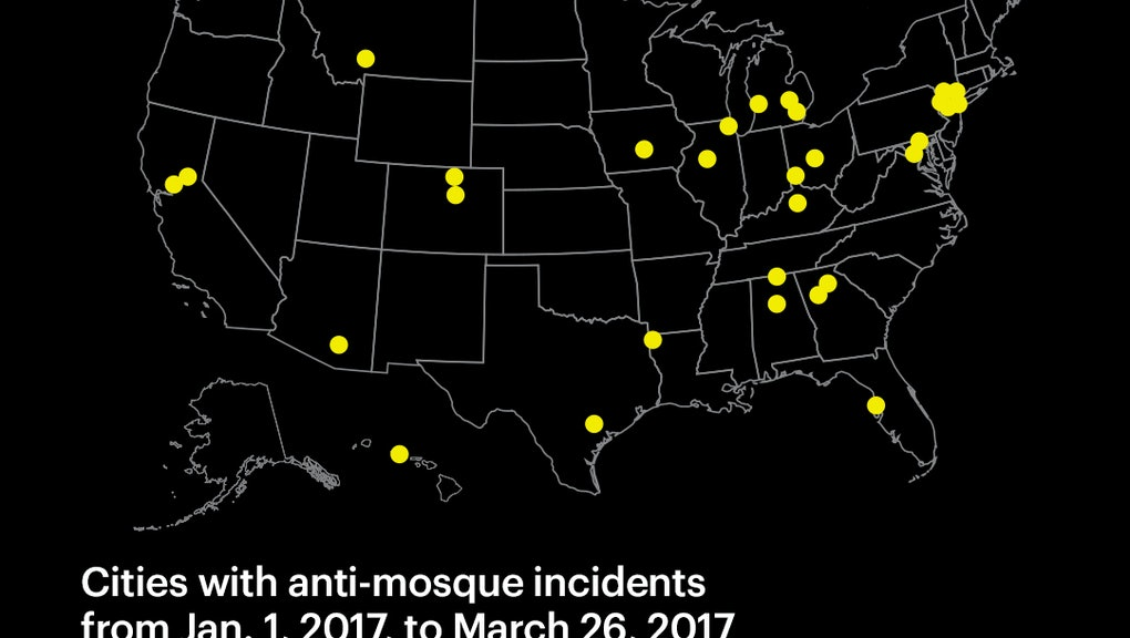 35 mosques have been attacked so far in 2017 — and Trump ...