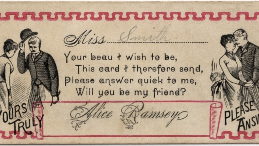 These 19th Century Pickup Lines Will Make You Long For a
