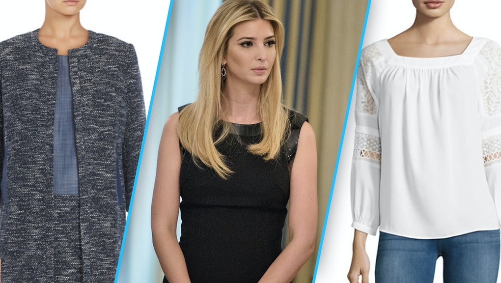 Stores dropping Ivanka Trump's clothing line fail to ...