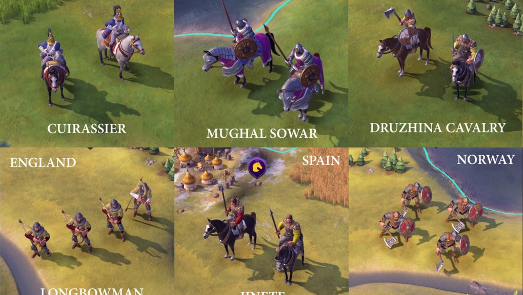 Civ 6' Mods: New military units to improve your world domination