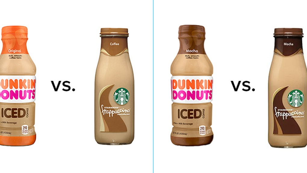 Starbucks Vs Dunkin Donuts Bottled Iced Coffees Which Is