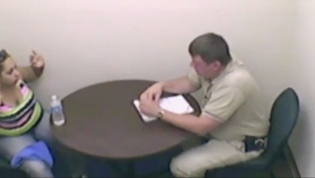 Watch Cops Viciously Interrogate a Woman After Shooting Her