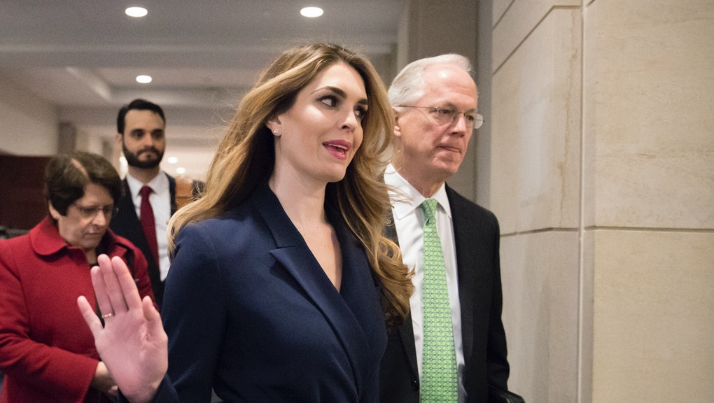 Hope Hicks is the 15th high-profile Trump administration departure